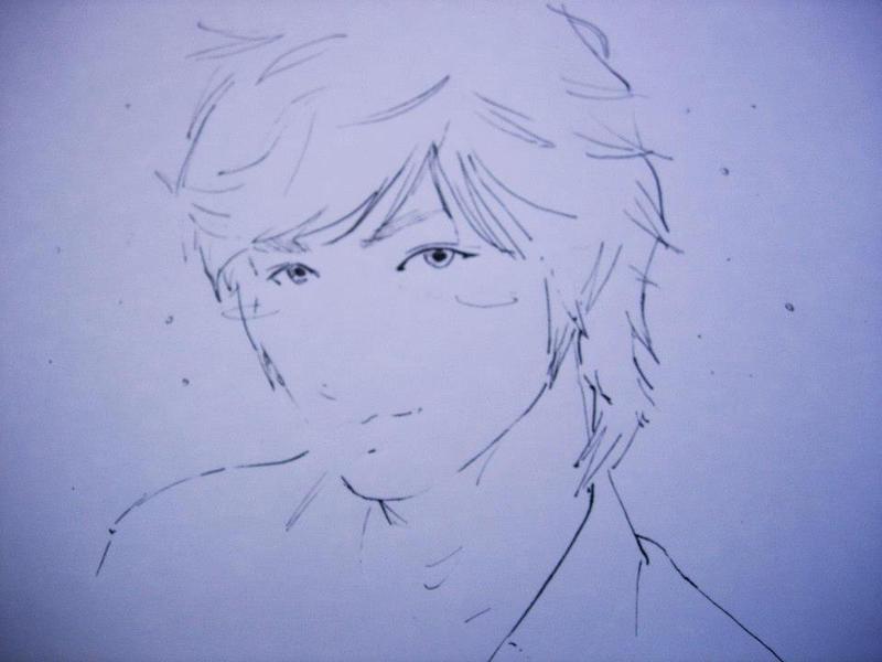 Line Art Zero : Sketch lee min ho by layer zero on deviantart
