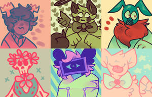 Color Palettes by SpecterBiscuits