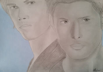 Sam and Dean Winchester (again) by Dees4life