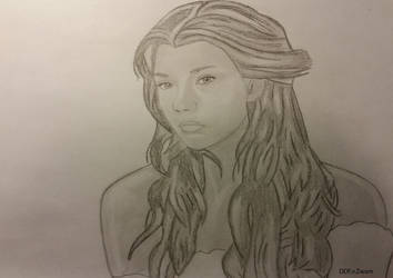 Natalie Dormer (graphite) by Dees4life