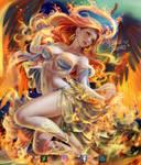 ANGEL OF  FIRE !