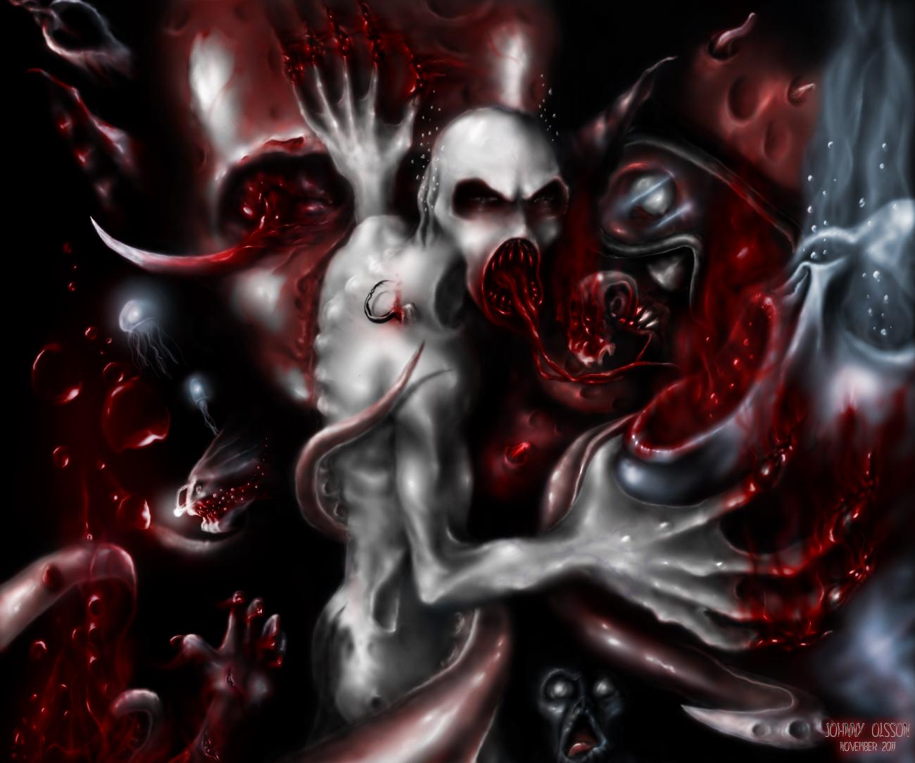 Aquaphobia by monstergandalf