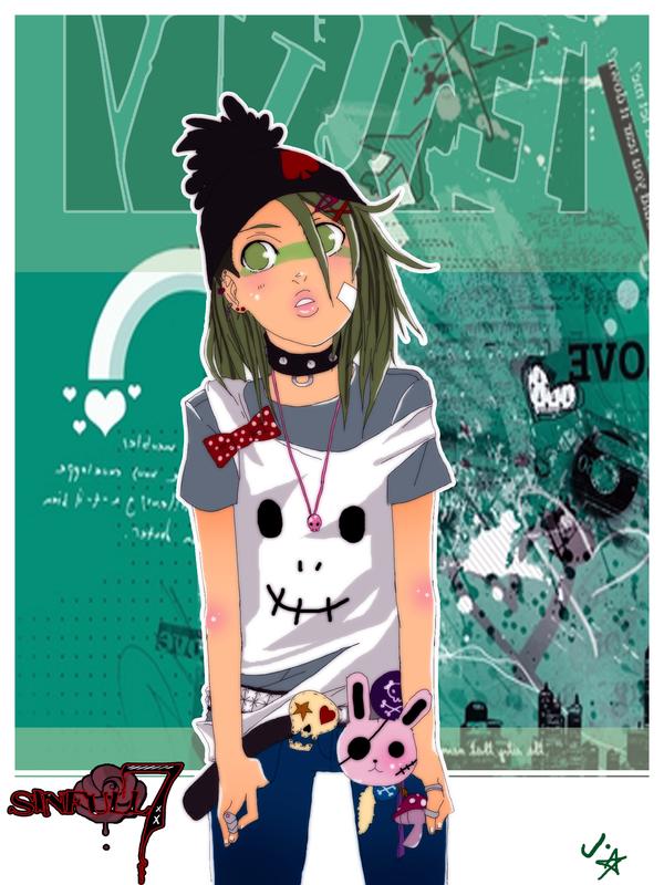 sinful7: greeny envy by animegirl000