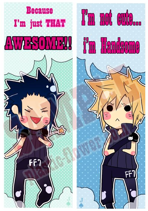 FF7: quote bookmark set by animegirl000