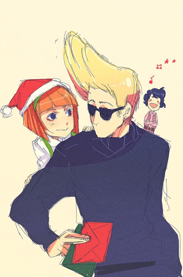 Have a merry Johnny Xmas by animegirl000 on DeviantArt