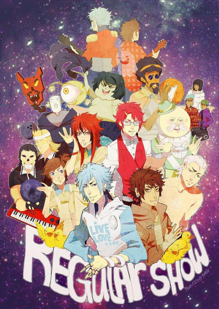 Regular show print by animegirl000
