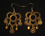 Steampunk Earrings 02
