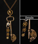 Steampunk Necklace 05