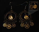 Steampunk Earrings 03