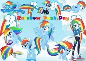 Rainbow Dash Day by lachlancarr1996