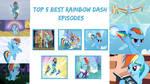 My Very Own Top 5 Best Rainbow Dash Episodes