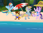 Day out at the beach by lachlancarr1996