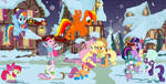 Asteroid Angus's Christmas with his friends by lachlancarr1996