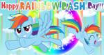 Happy Rainbow Dash Day 2021 by lachlancarr1996