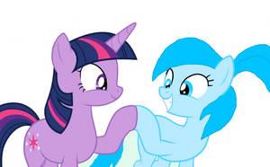 Twilight Sparkle meets Miku!