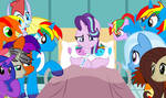 Shield Wing and Starlight's new twin babies by lachlancarr1996