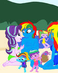 Nice day out for the Shield Family by lachlancarr1996