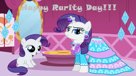 Happy Rarity Day 2021 by lachlancarr1996