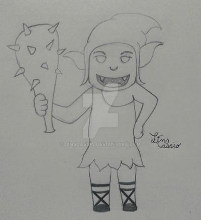goblin boy by LinsCassio