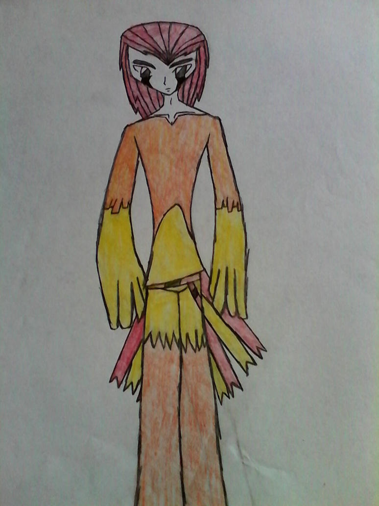 pidgeotto gijinka by bloodynightstalker on deviantart