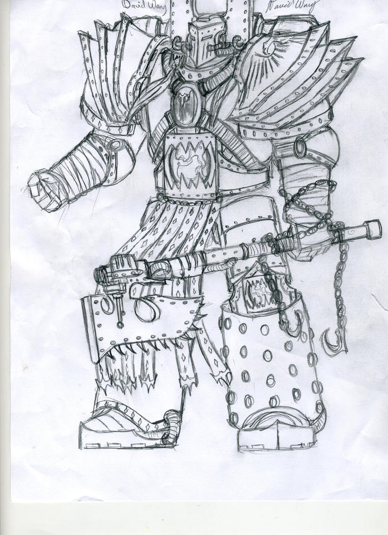 [W30K] Legiones Astartes XII : World Eaters Kharn__equerry_to_angron_by_djwang2012-d5i7s4g