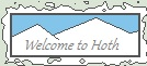Welcome to Hoth stamp by Deltaturtle