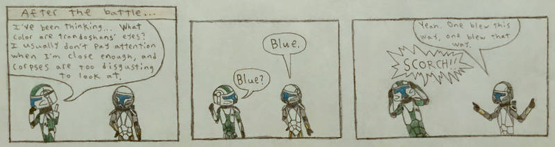 Squad Funnies - Eye Color by Deltaturtle