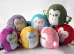 Rainbow Chubby Owls