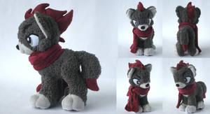 Dartzu's Custom Plush Commission by Pwyllo