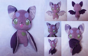 Little Fox Bat Plush by Pwyllo