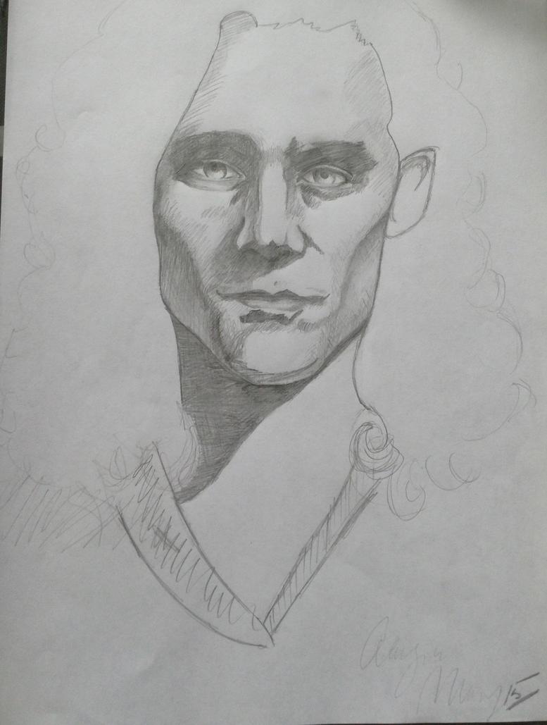Loki -pencil Sketch- By ChickadeeandFernando On DeviantArt