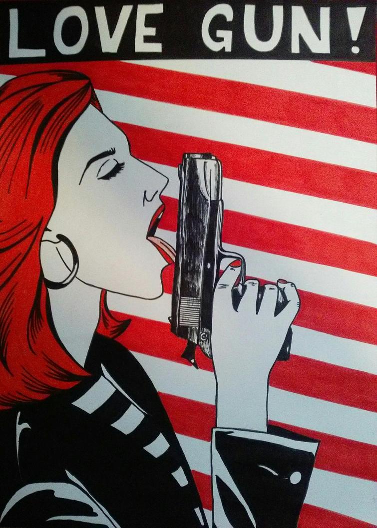 Love Gun by 0192sarka on DeviantArt