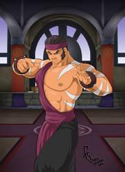 Mortal Kombat Gold - Kai by FranjoGutierrez