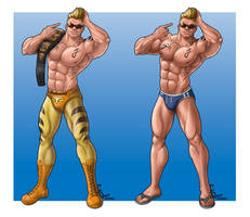 Commission - Johnny Owens by FranjoGutierrez