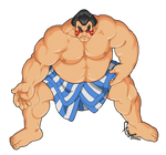 Street Fighter II - E. Honda by FranjoGutierrez
