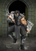 Mortal Komat 3 Ultimate - Human Smoke by FranjoGutierrez