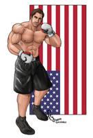 American Fighter - Commission by FranjoGutierrez