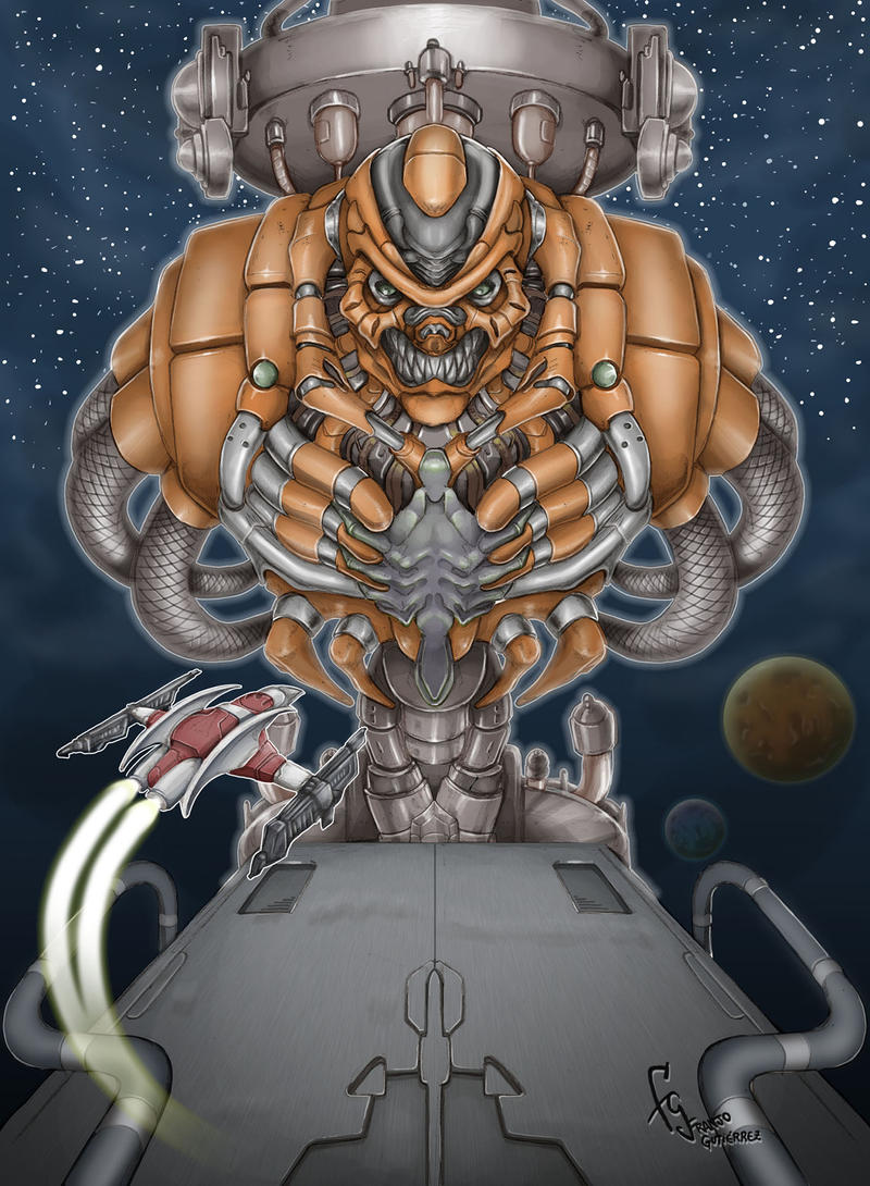 Super Nova - Darius Force by FranjoGutierrez