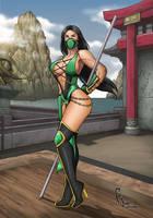 Mortal Kombat 9 - Jade by FranjoGutierrez