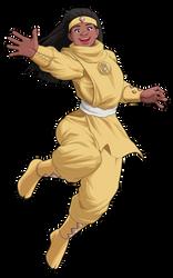M.M. Power Rangers (Movie) - Yellow Bear Ninjetti
