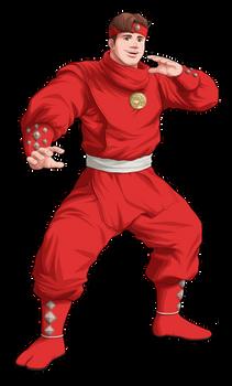 M.M. Power Rangers (Movie) - Red Ape Ninjetti