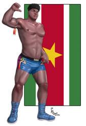 Surinamese Fighter