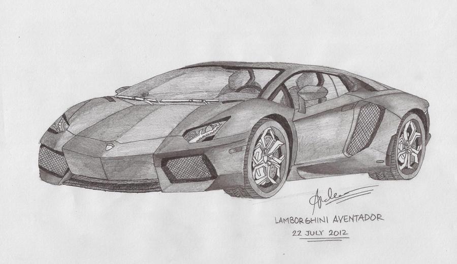 Lamborghini Aventador by andr3wz94 on DeviantArt