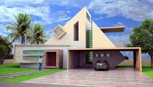 comtemporary house by eduardo1995