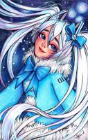 Snow Miku by Asano-nee