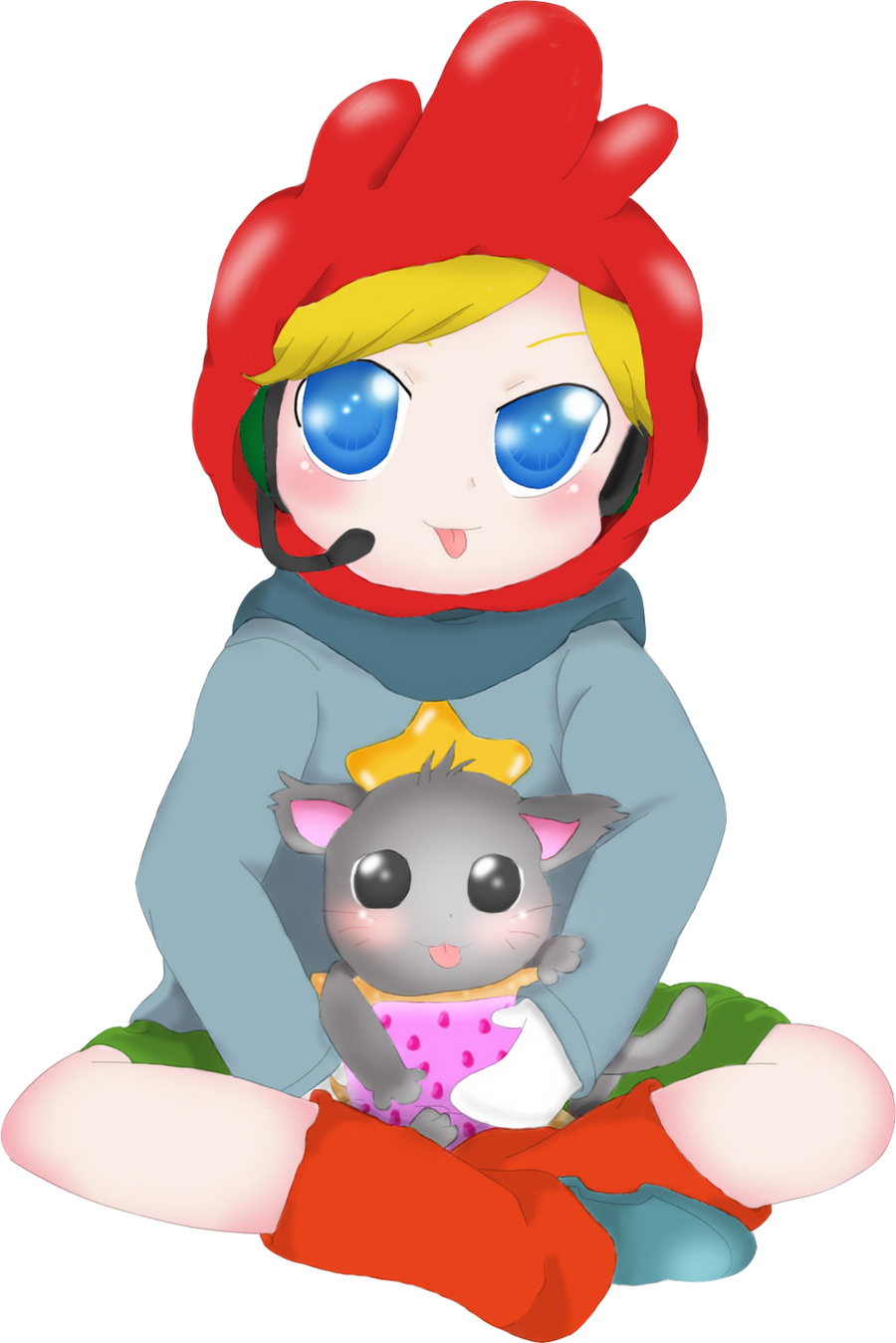 Maxwell Scribblenauts Drawing : Pewdiepie as maxwell scribblenauts unlimited by