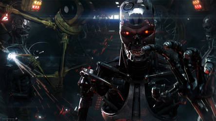 Skynet T800 Factory 2 -Wallpaper-