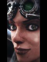 Amy -Close Up-
