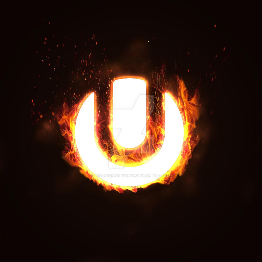 ultra logo 1 fire by brandonarboleda on deviantart