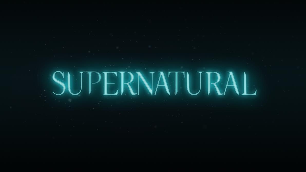 supernatural logo series 2 season 1 glow by